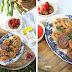 Słodki piknik - polskie churros z sosem truskawkowym