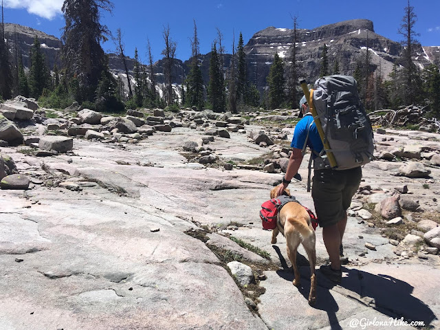 Backpacking to Kermsuh Lake, Uintas, Christmas Meadows