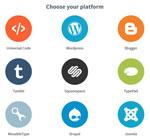 Różne platformy blogowe, cms możliwe do wyboru