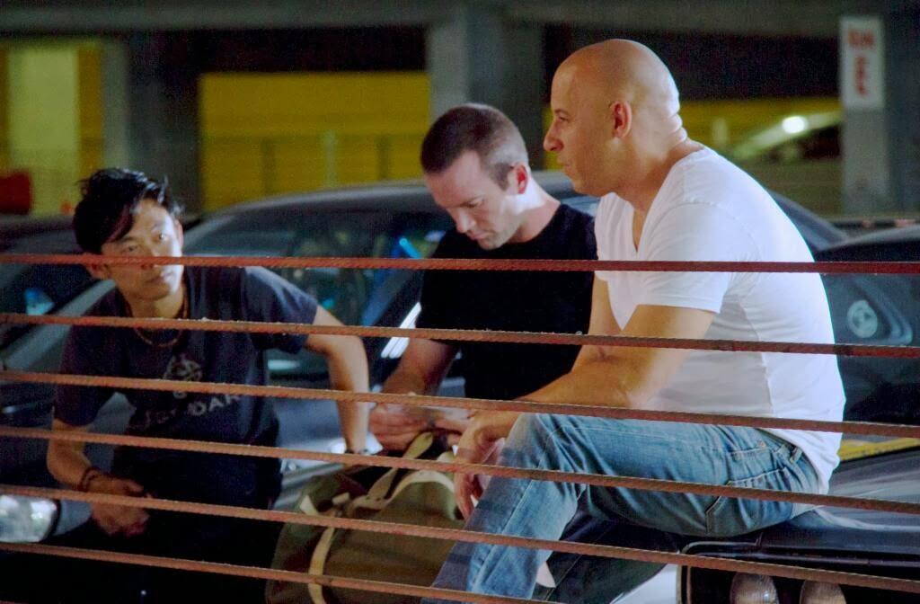 A todo gas 7 Vin Diesel y Lucas Black : Pelicula Trailer