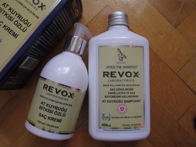 Ürün #79: Revox At Kuyruğu Şampuan & Revox At Kuyruğu Saç Kremi