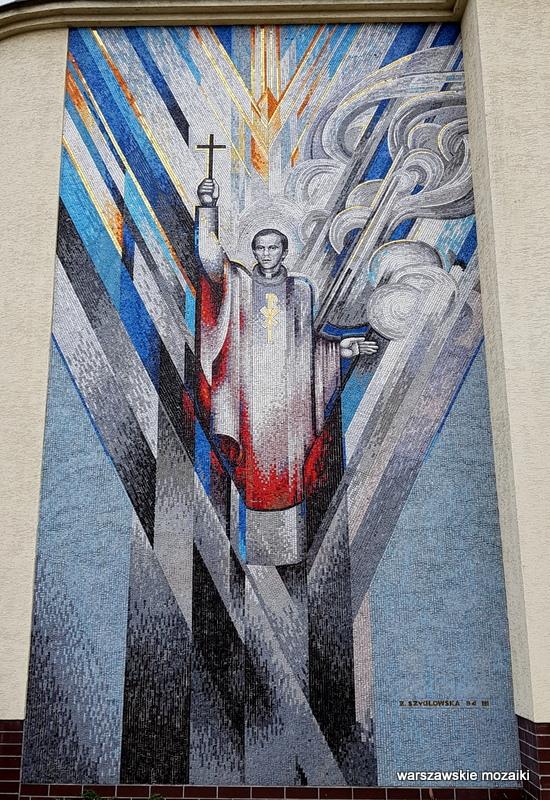 Warszawa Warsaw warszawskie mozaiki Żoliborz dom pielgrzyma Amicus Żaneta Szydłowska