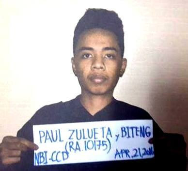 Paul Biteng, the alleged hacker of Comelec website.