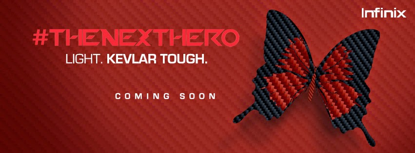 Infinix #TheNextHero Will Soon Arrive Watch Out!