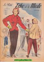 Faire du Ski en 1948