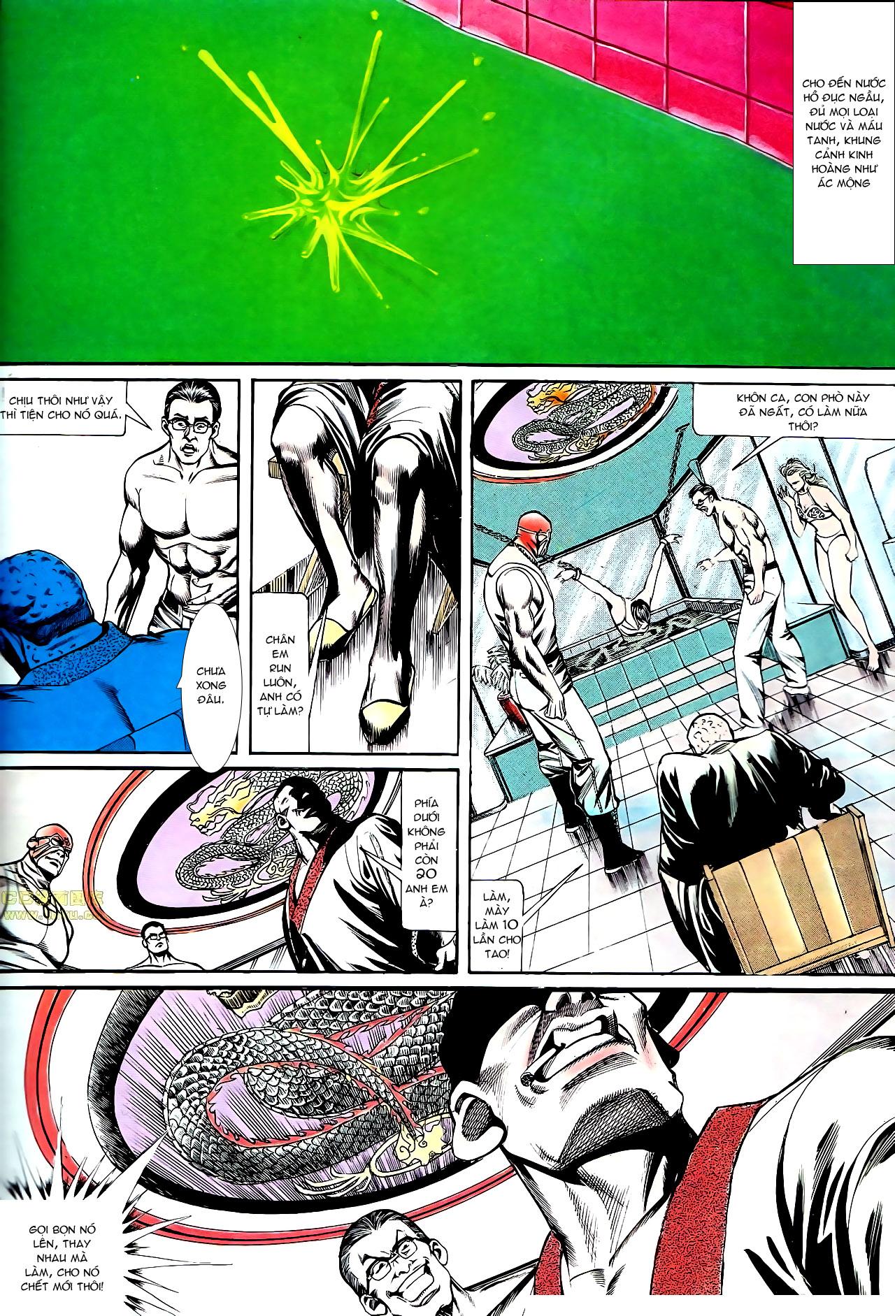 Người Trong Giang Hồ chapter 140: vây giết a khôn trang 24