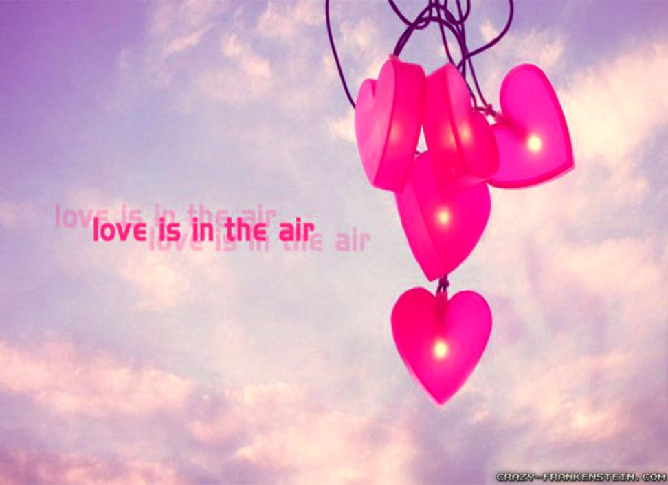 Love Is In The Air Wallpaper All Hd Wallpapers Gallery