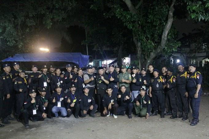 Pokdarkamtibmas Sukamaju Baru Terjunkan 35 Personi Bantu Pengamanan Lebaran