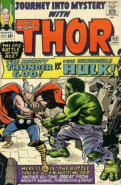 Journey into Mystery #112, Thor v Hulk