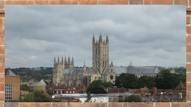 A Weekend in Canterbury England - The Canterbury Cathedral from afar