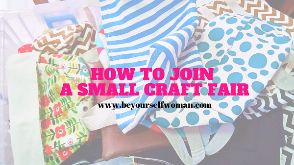 how to join a small craft fair