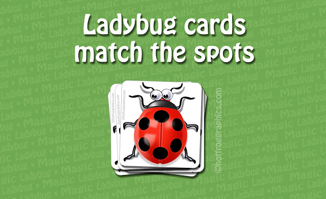 image of Ladybug and title of card game