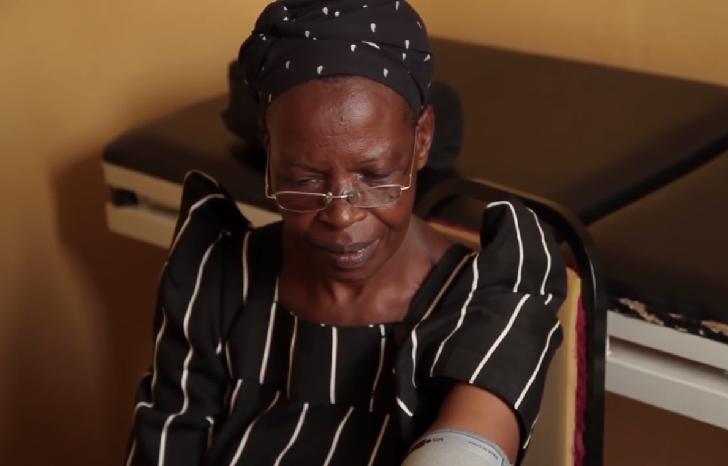 Granny medical check-up