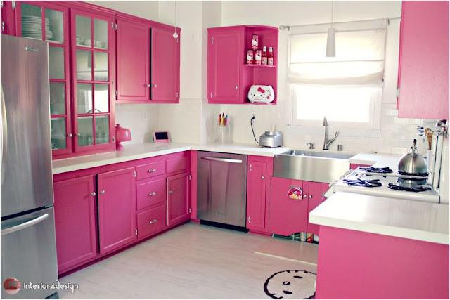 Top 20 Pink Kitchens 8