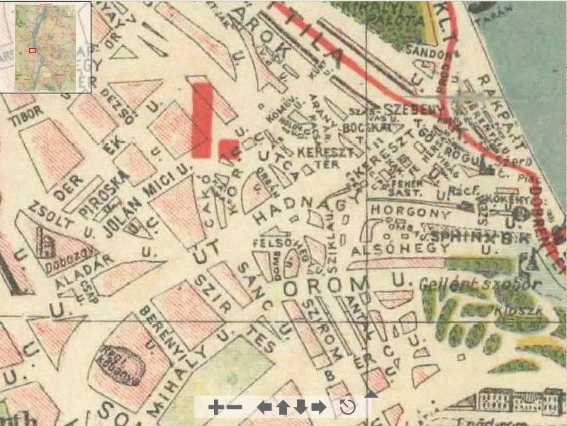 virtuális térkép budapest TABÁN ANNO: NAGY BUDAPEST TÉRKÉPE 1930 virtuális térkép budapest