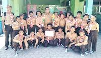 Gerak Jalan Hari Pramuka, Regu Putra MIN 1 Tolobali Raih Juara I