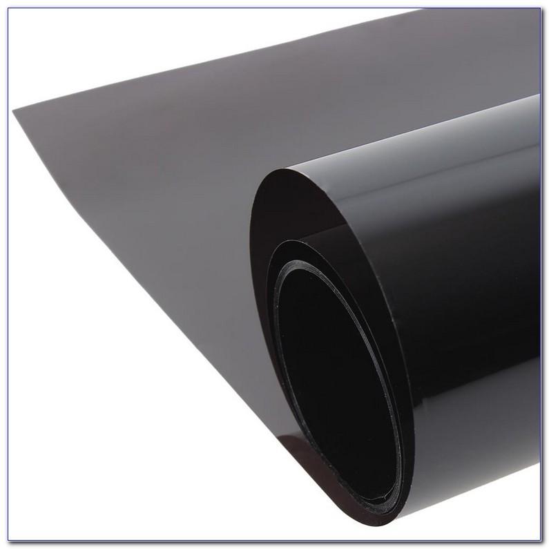 """30/""""x100/' ft Limo 5/% VLT Charcoal Black Window Tint Film Uncut Roll Darkest Shade"""