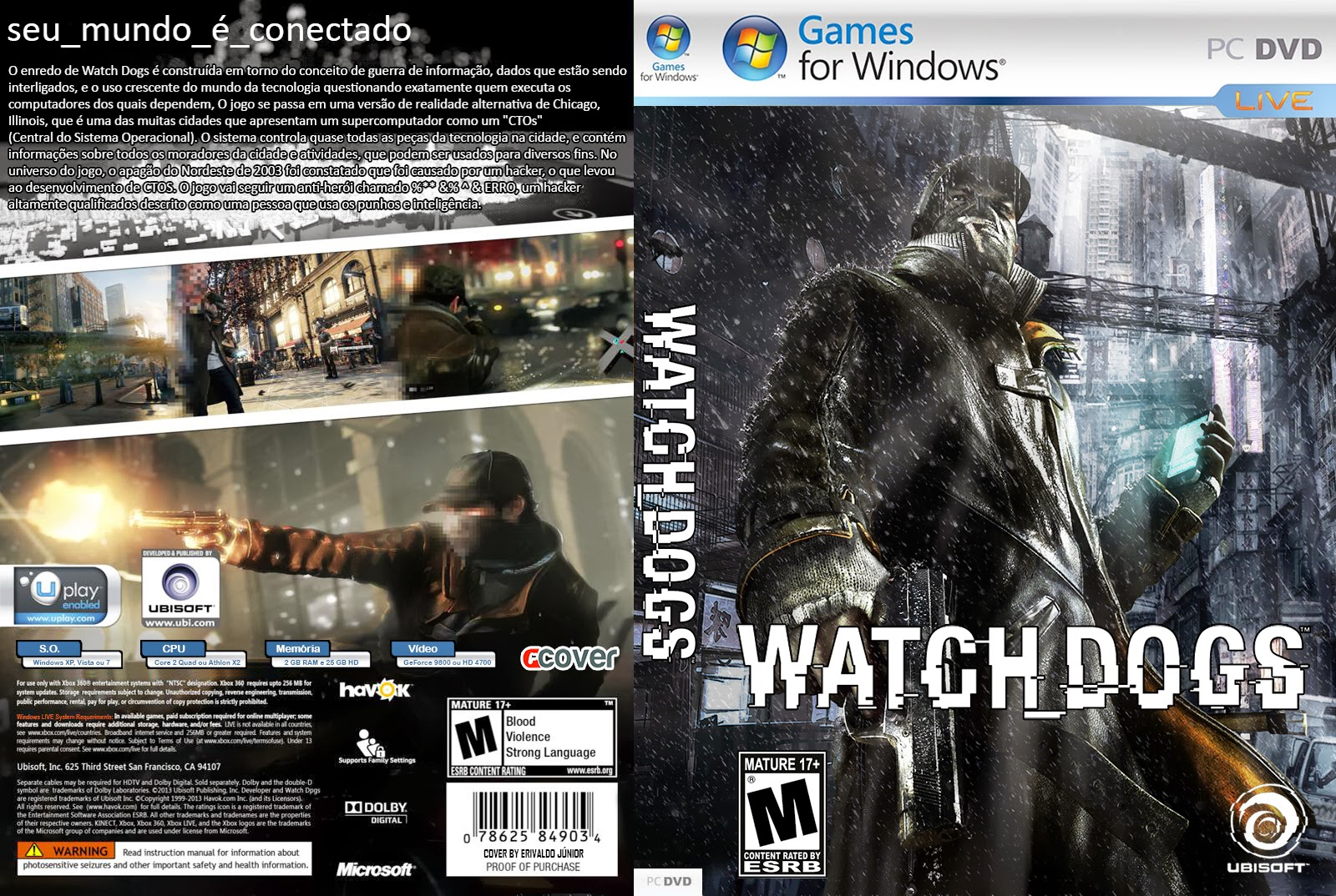 Watch Dog Pc Requirment