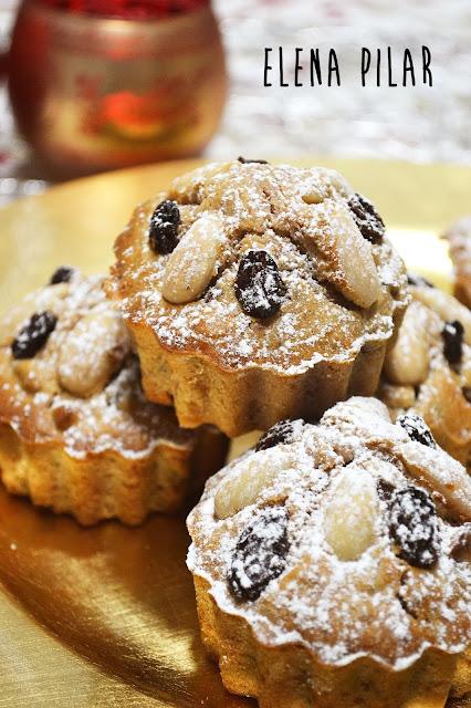 Zelten trentino mini (pastelitos italianos de frutos secos)