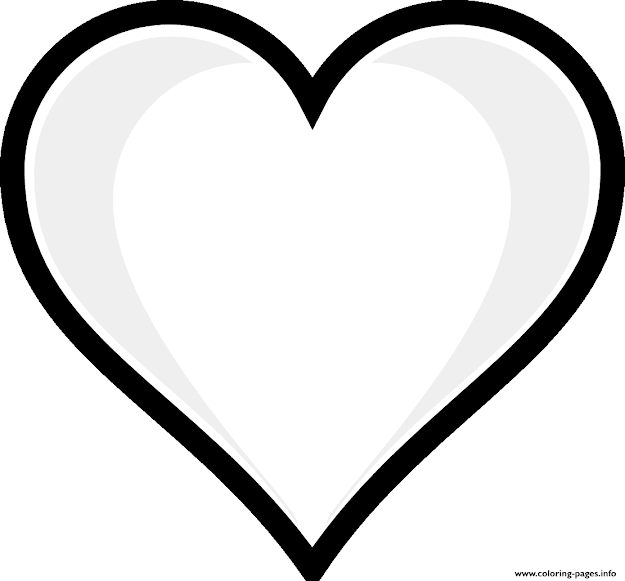 Print Printable Heart Emoji Coloring Pages Free Printable