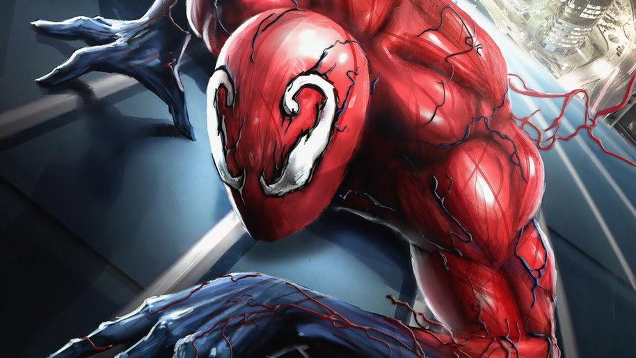 Spider-Man, Carnage, Symbiote, Marvel, 4K, #228