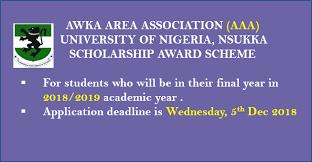 Awka Area Association Scholarship