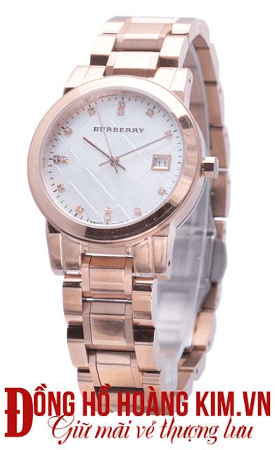 Đồng hồ nữ dây thép thời trang- 02