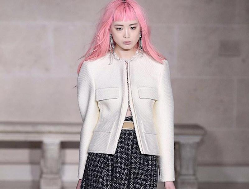 Fernanda Ly for Louis Vuitton Fall 2017.