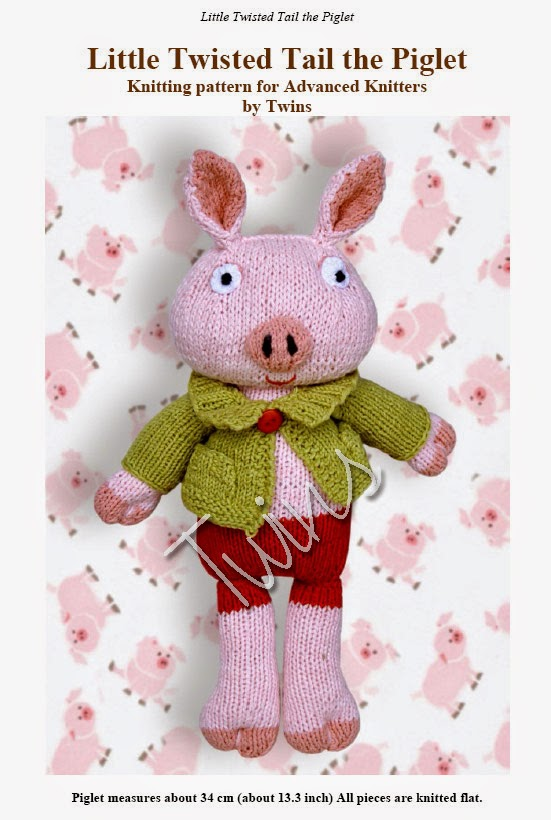 knitted pig