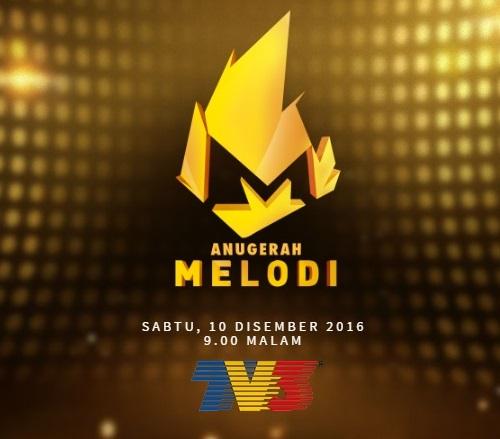 pemenang anugerah melodi 2016, keputusan penuh pemenang anugerah melodi 2016, artis menang undian anugerah melodi 2016