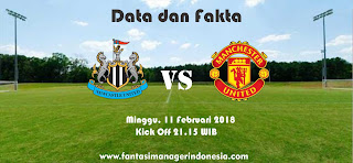 Data dan Fakta Fantasy Premier League GW 27 Newcastle vs Manchester United Fantasi Manager Indonesia
