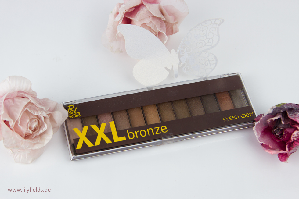 Rival de Loop Young XXL Bronze Eyeshadow Palette