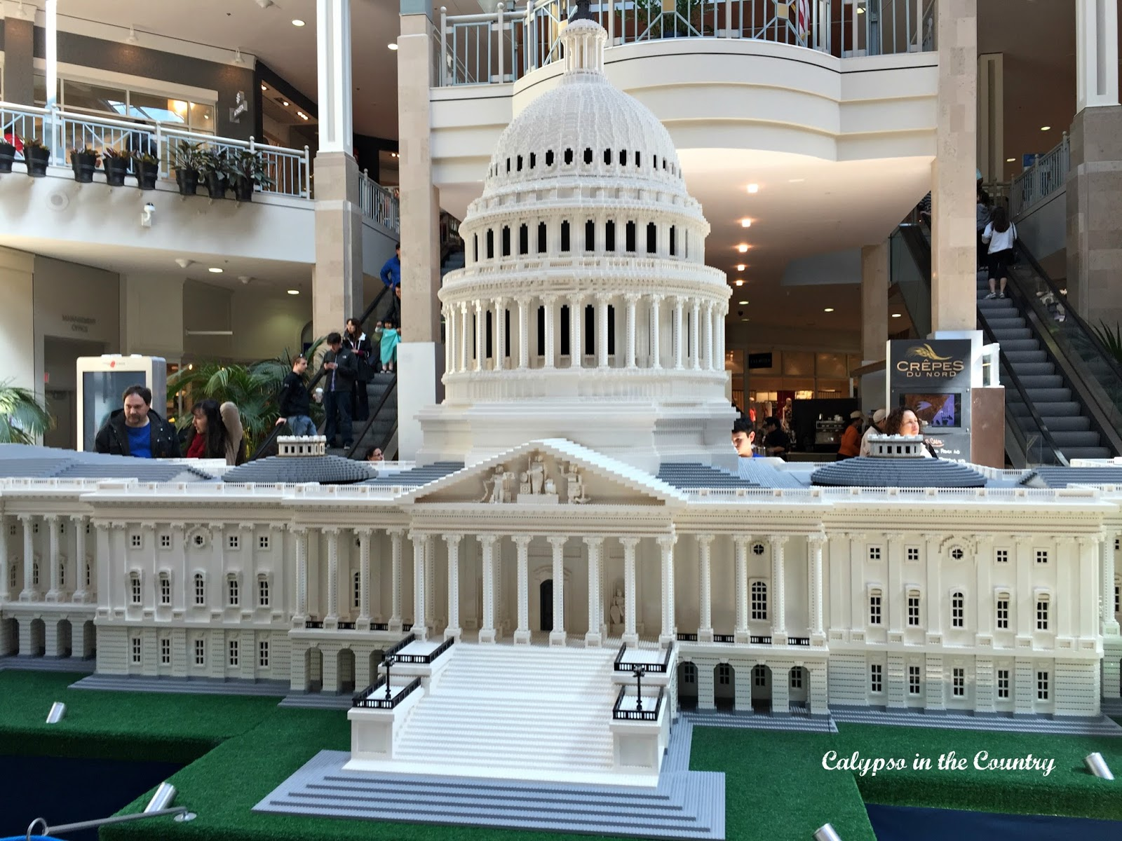 Lego US Capitol - part of the Lego Americana Roadshow