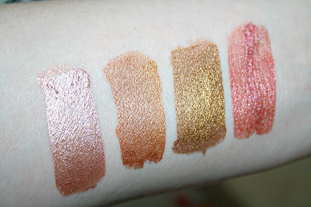 Phase Zero Makeup Liquid Eyeshadows