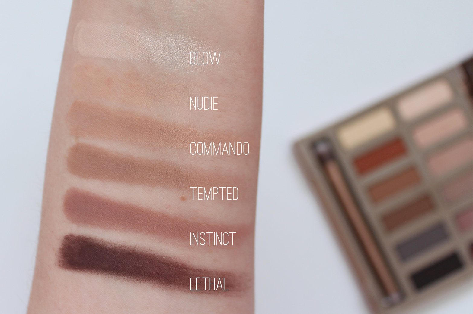 URBAN DECAY | Ultimate Naked Basics Palette - Review + Swatches - CassandraMyee