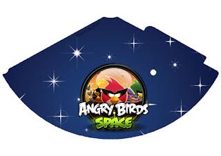 Conos=Cucuruchos de Angry Birds en el Espacio.