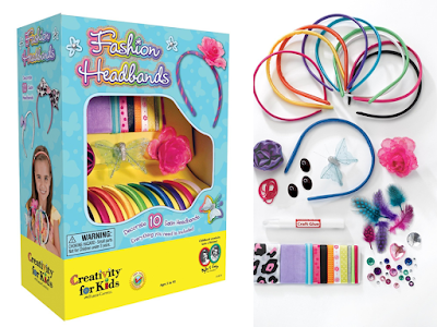 Fashion headbands creative kit for girls