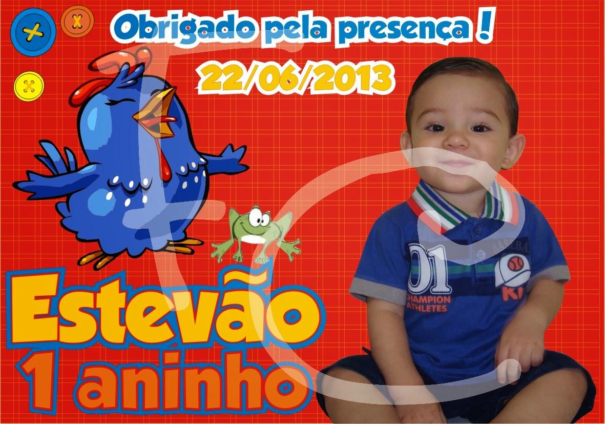 Foto lembrança 10X7 cm - Galinha Pintadinha