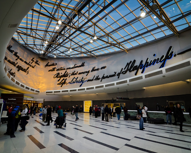 Como ir do aeroporto da Filadélfia até o centro turístico