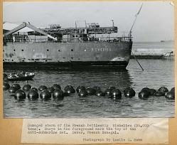 7 July 1940 worldwartwo.filminspector.com Richelieu Dakar Senegal
