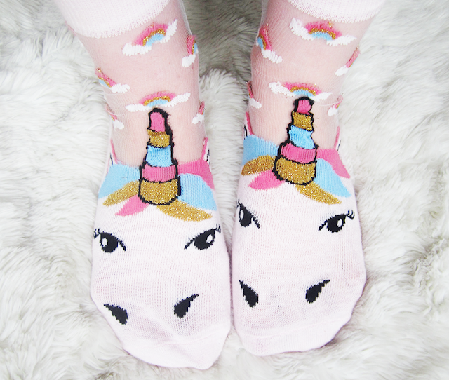 ASOS Unicorn Socks