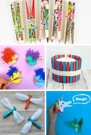 10 super cute and fun clothespin crafts for families