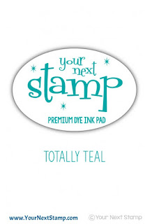 Premium Dye Ink Pad Totally Teal