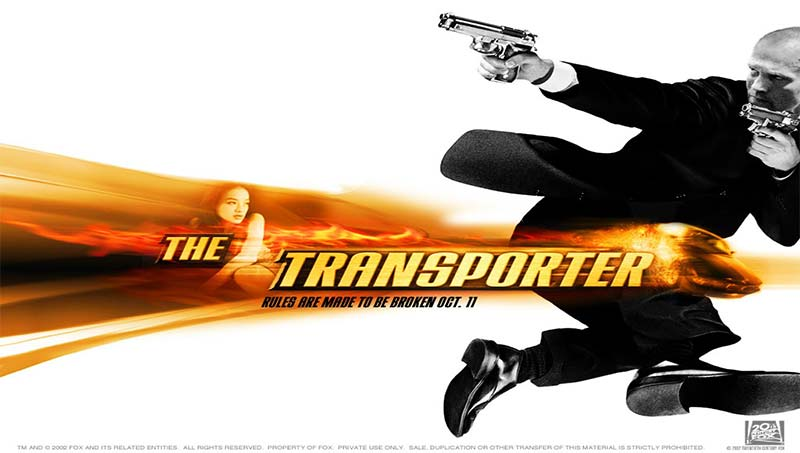 The Transporter 2002 Hindi 720p BluRay Dual Audio Movie Poster