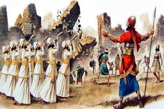 Pela fé Caíram os Muros de Jericó
