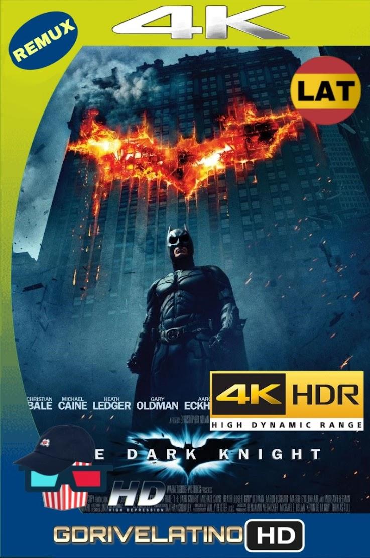 Batman: El Caballero de la Noche (2008) BDRemux 2160P 4K HDR Lat-Cas-Ing mkv