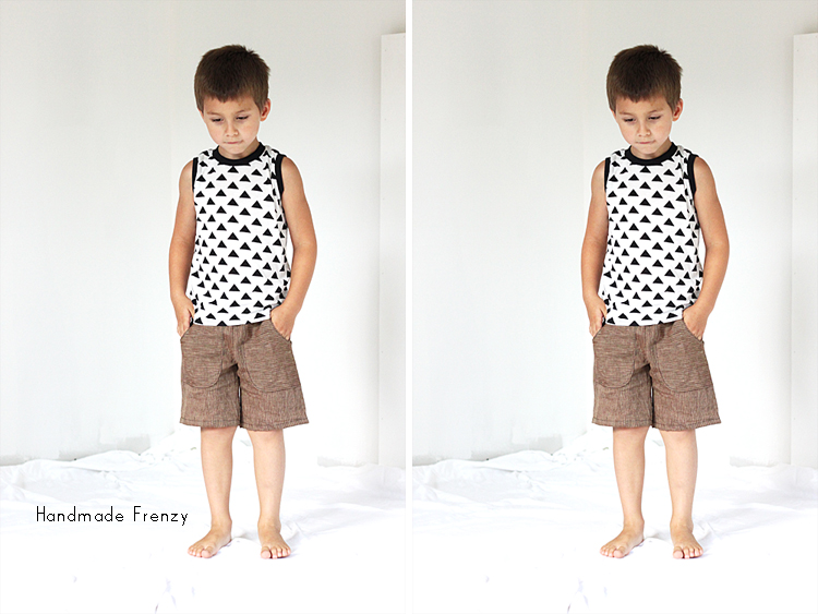 All About Boys: Free Pattern Edition featuring Sunny Days Shorts & Dana's Basic Tee