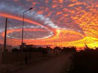 Fenomena Formasi Awan Spiral Muncul Di Tunisia