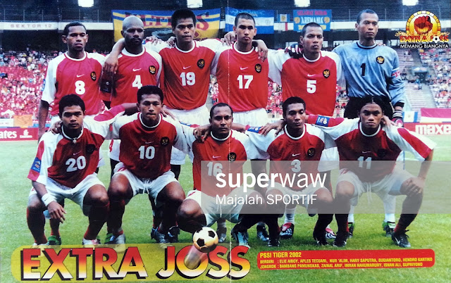 Timnas Indonesia Piala Tiger 2002