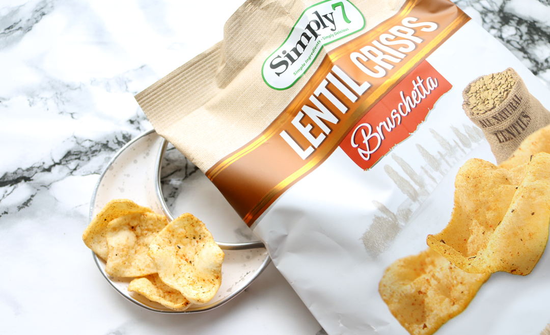 Simply7 Bruschetta Lentil Crisps